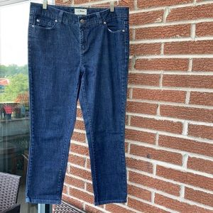 LL Bean Cropped jeans size 12